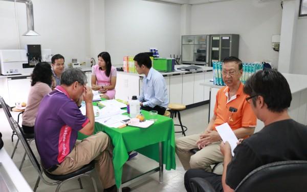 ศูนย์ส่งเสริมและตรวจสอบการผลิตตามมาตรฐานความปลอดภัยทางอาหาร ได้รับการตรวจประเมินระบบ ISO 17025:2005