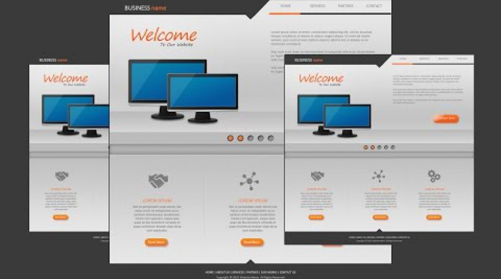 Photoshop Tutorial Website Design Business Org
