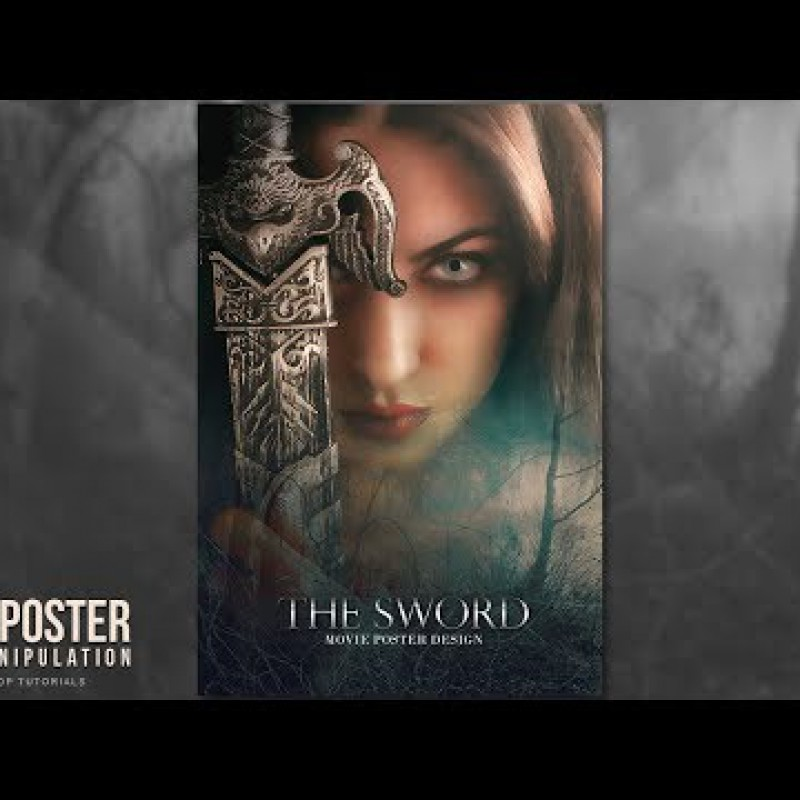 สอน Photoshop :  Creating Movie Poster Concepts Photoshop Tutorial