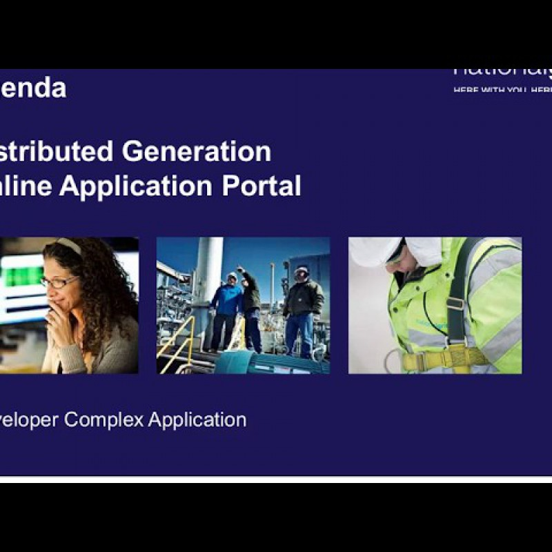 National Grid: Customer Application Portal Instructions