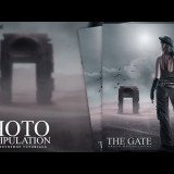 สอน Photoshop : The Gate Photo Manipulation