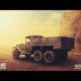 Advance Photo Manipulation Tutorial - Old Truck