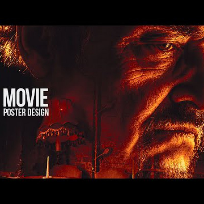 Photoshop Tutorial - Warm and Dark Movie Poster Style