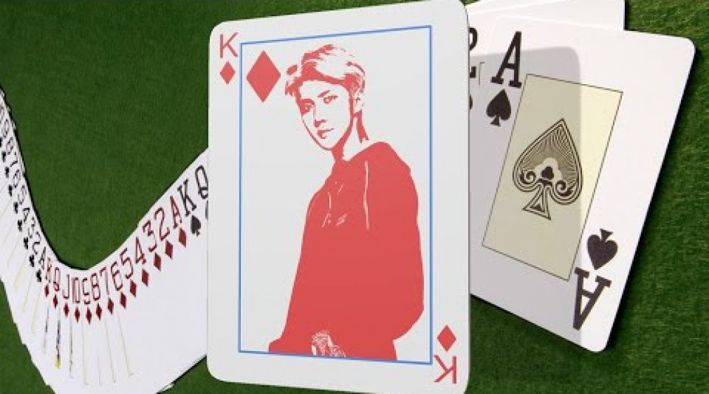 สอน Photoshop :  Creative Self Portrait Playing Cards in Photoshop