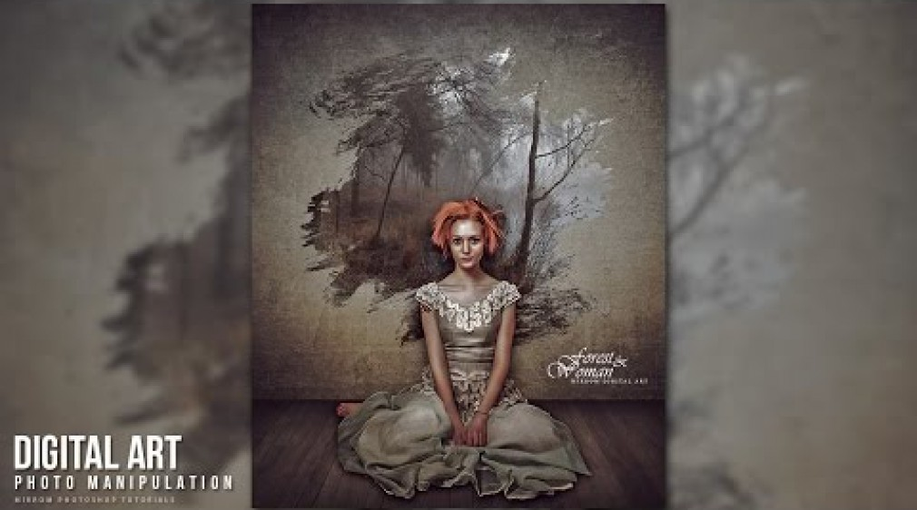 สอน Photoshop : Create Concept Art Photo Manipulation In Photoshop CC