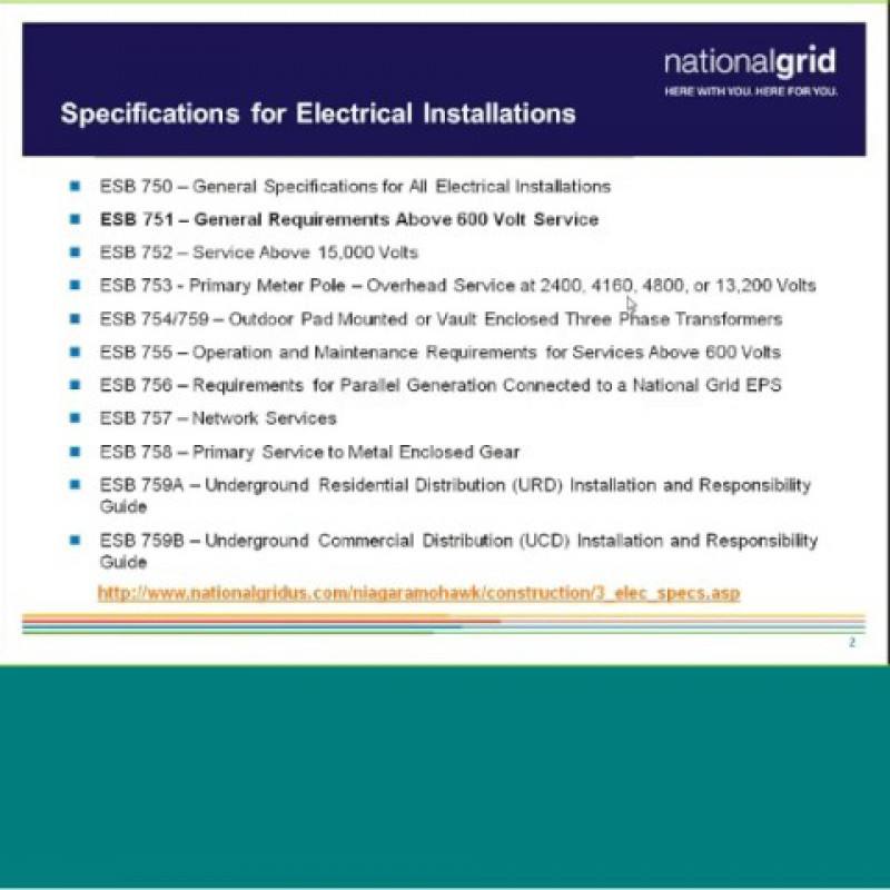 National Grid: Distributed Generation Webinar- Compliance & Verification