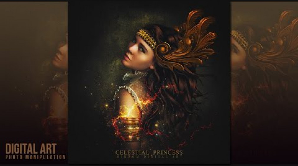 สอน Photoshop How to Create an Celestial Princess ArtWork In Photoshop | MirRom14