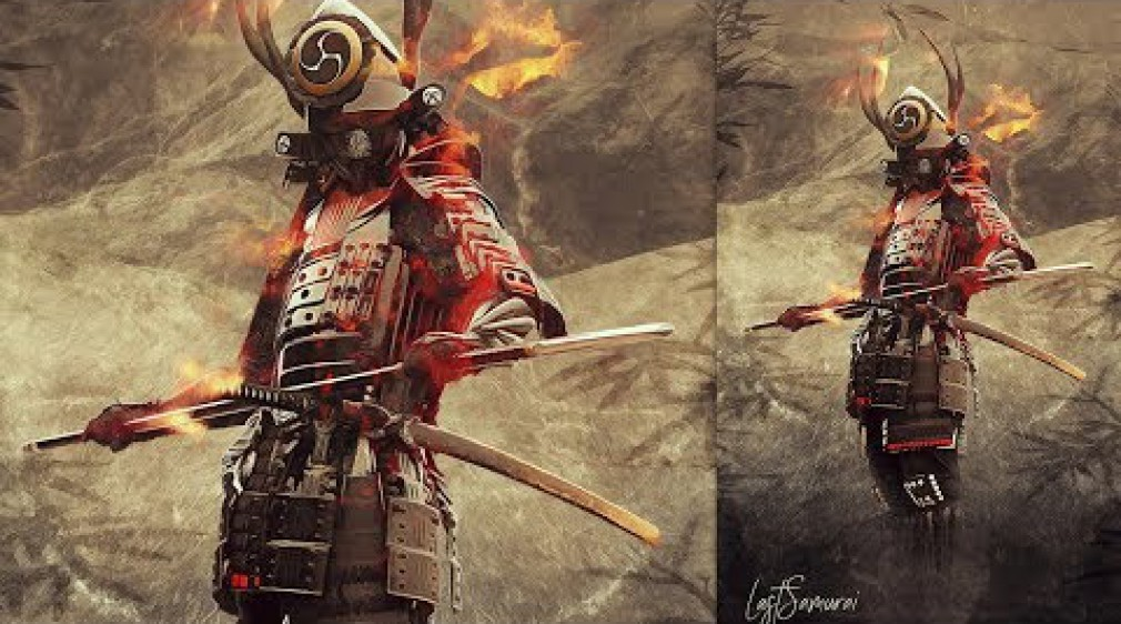 How to Create a Digital Art Samurai Photo Manipulation in Photoshop