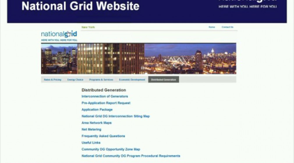 Distributed Generation: Interconnection Application Webinar