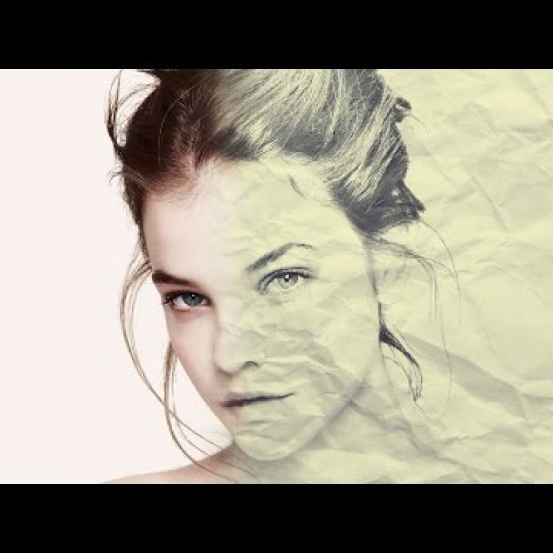 Photoshop CS6: Image into Drawing in Paper