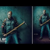 สอน Photoshop : The Last Cyborg Photo Manipulation Effect Photoshop Tutorial