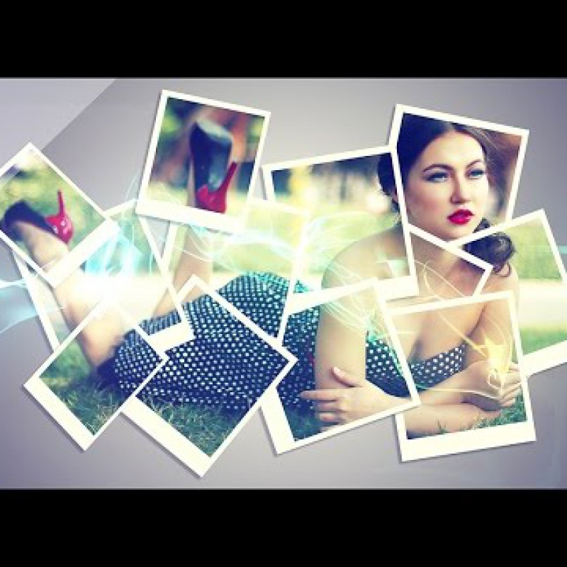Photoshop CS6 Tutorial - Creative A Collage Effect