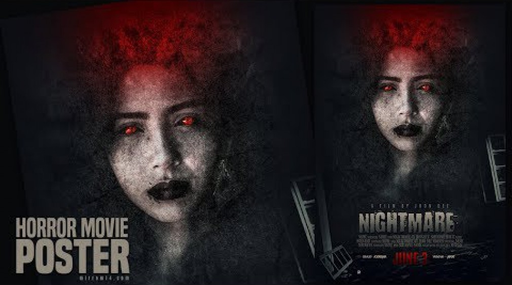 Blend Textures to Create a Horror Movie Poster in Photoshop