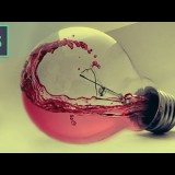 Photoshop CS6 Tutorial - Water Photo manipulation Bulb
