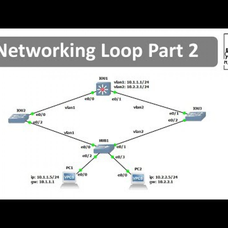 สอน Networking Loop Part 2