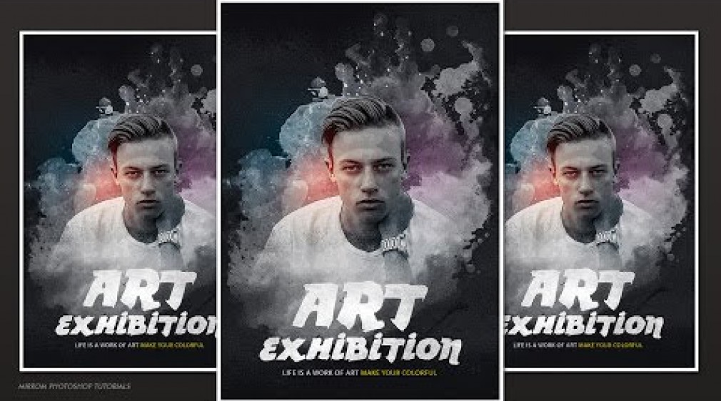 สอน Photoshop : Creative and Artistic Poster