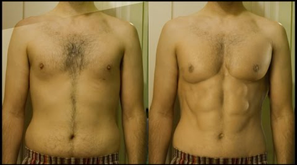 สอน Photoshop :  Get 6 Pack Abs (SIX PACK ABS)
