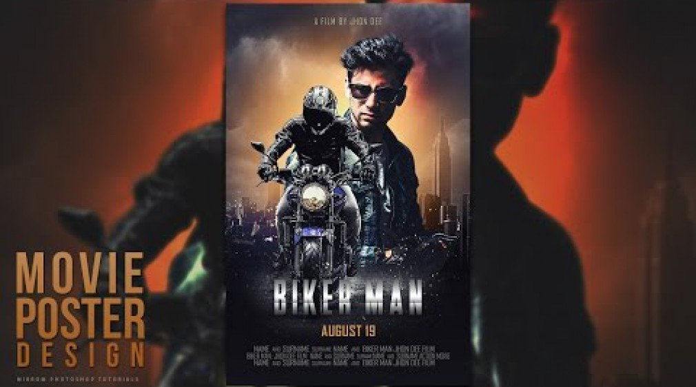 สอน Photoshop : Create a Blockbuster Style Movie Poster Design In Photoshop
