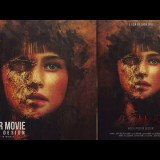 สอน Photoshop : Creating a Horror Movie Poster Design With Photoshop CC