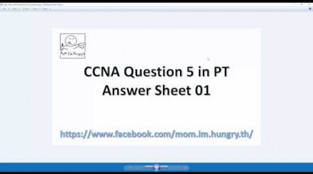 CCNA Question 5 in PT: Answer 01