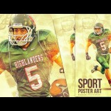 Create a Sport Poster Art in Photoshop CC