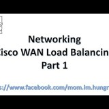 Networking : Cisco Basic WAN Load Balancing Part I