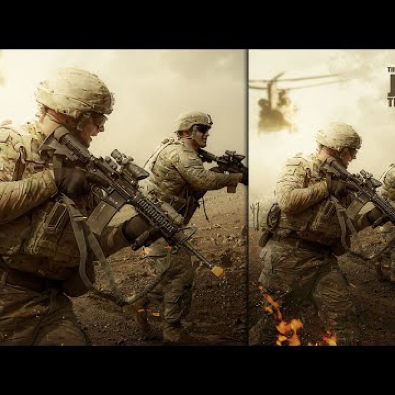 Join The Army - Advanced Photoshop Manipulation Tutorial