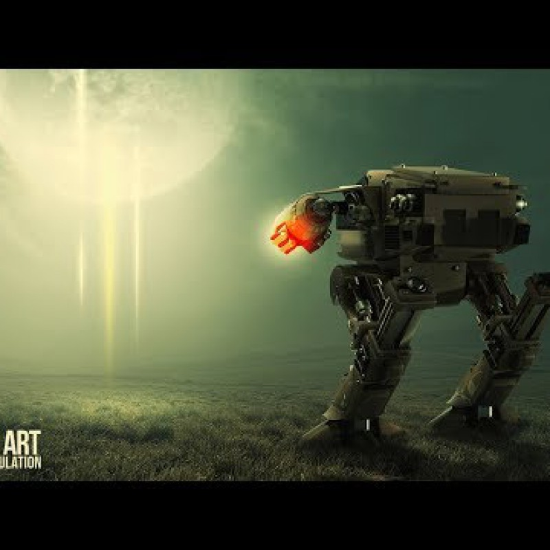 Advance Sci Fi Photo Manipulation Tutorial - After Light