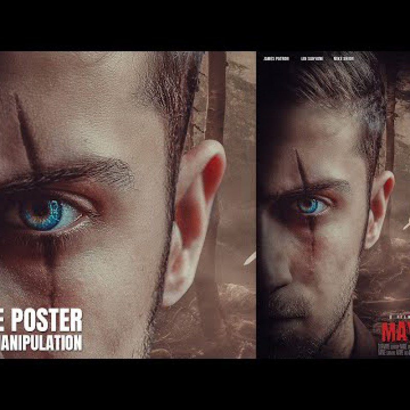 Make an Movie Poster Using Photo Manipuation Techniques in Photoshop