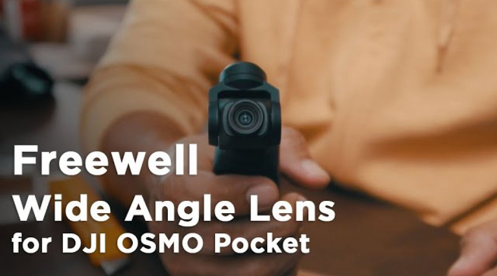 Freewell Wide Angle Lens สำหรับ OSMO Pocket