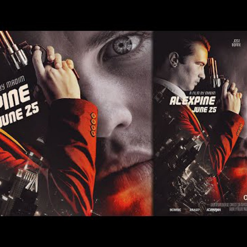 Photoshop Tutorial  - Add Facet and Sharpen More in Movie Poster Design