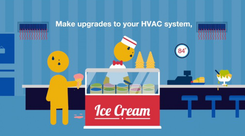 An efficient HVAC system can improve customer satisfaction by improving customer comfort