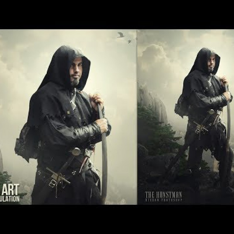 The Hunstman - Soft Light Photo Manipulation Tutorial