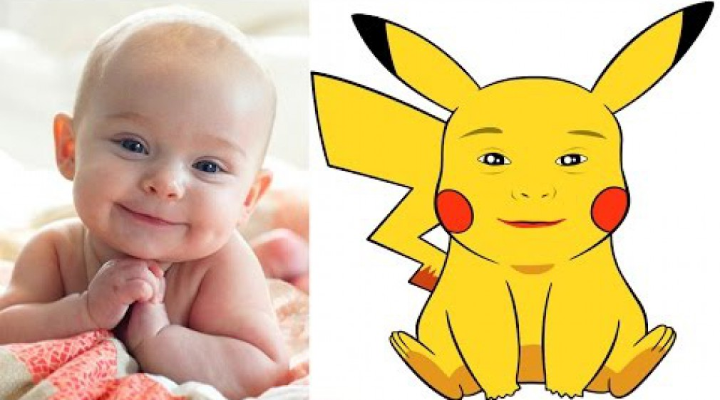 สอน Photoshop :  Pokemon Face Swap