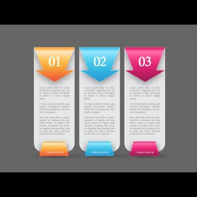 Photoshop Tutorial Colorful Web Banners Number Options